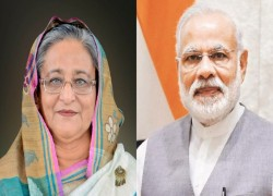 'THANK YOU': HASINA TO MODI