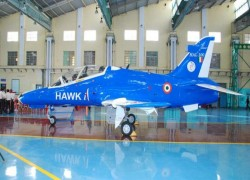 HAL successfully test fires smart anti-airfield weapon from Hawk-i aircraft