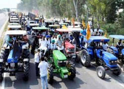 INDIAN FARMERS TO HOLD 'TRACTOR RALLY' IN CAPITAL ON REPUBLIC DAY