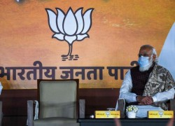 Modi's party seeks to increase political influence in Indian state elections