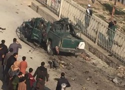 4 BLASTS IN KABUL CITY, SOURCES SAY MEDICAL WORKERS INJURED