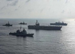 FIRST CHINESE MILITARY DRILL BEGINS IN SOUTH CHINA SEA