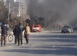 TWO BLASTS HAPPEN IN KABUL; 1 CIVILIAN KILLED: POLICE