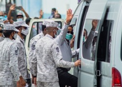 Maldives' ex-president denies charges, evidence to be submitted