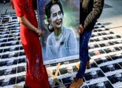 MYANMAR LATEST: NLD CALLS FOR SUU KYI'S RELEASE