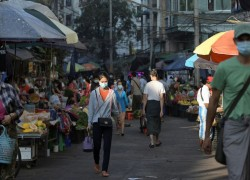 The nights of pots and pans are back, on Myanmar's fearful streets