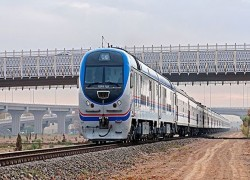 Afghanistan, Uzbekistan, Pakistan ink map for rail link