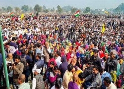 Farmers' protests: Massive gathering in Haryana demands repeal of farm laws