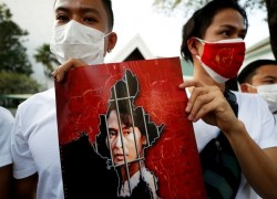 Aung San Suu Kyi could face two years in jail over 'illegal' walkie-talkies