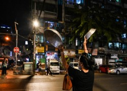 Myanmar coup: Army blocks Facebook access as civil disobedience grows
