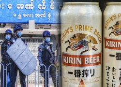 JAPAN'S KIRIN TO END JOINT BEER VENTURES IN MYANMAR AFTER COUP