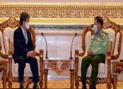 Japan seeks dialogue with Myanmar military after coup