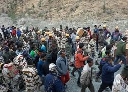 ভারতের উত্তরাখণ্ডে ভয়াবহ তুষারধস, ১৫০ জনের মৃত্যুর আশঙ্কা