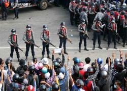 Anti-coup demonstrations reach Myanmar's 'protest-proof' capital