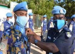 21 BANGLADESHI PEACEKEEPERS IN SUDAN GET UN MEDAL
