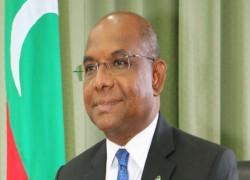 MALDIVES' FM REACHES DHAKA ON OFFICIAL TRIP