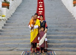 King and Queen of Bhutan send Chinese New Year greetings