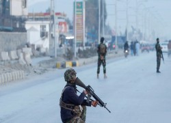 Attack on UN convoy near Kabul kills 5 Afghan security force members