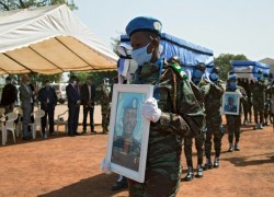 U.N. SAYS ONE OF THE 28 PEACEKEEPERS WOUNDED IN MALI HAS DIED