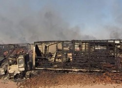 HERAT FIRE COSTS '100S OF MILLIONS OF DOLLARS' TO INVESTORS