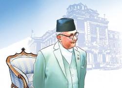 Oli was chosen to strengthen the charter. He has left it weakened