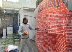 The Wall of Jesus stands tall in Pakistan
