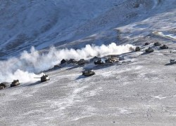 Chinese troops withdrawing from Pangong Tso