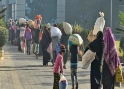 রোহিঙ্গা শরনার্থীরা ভারত থেকে পালিয়ে যেতে শুরু করেছে