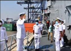 Sri Lankan navy takes part in Pakistan-led naval exercises