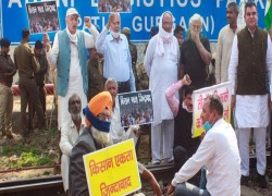 Protesting farmers hold rail roko, say it proves protest goes beyond Punjab, Haryana