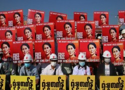 Two weeks after the coup, Myanmar's protesters are undaunted – but how far can the military be pushed?