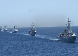 Pakistan hosts joint naval drills including the US, China and Russia