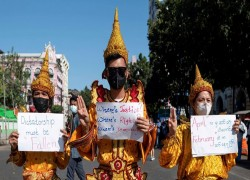Myanmar military woos ethnic minorities after coup