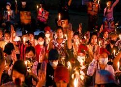 MYANMAR JUNTA WARNS PROTESTERS COULD DIE, BUT MORE RALLIES