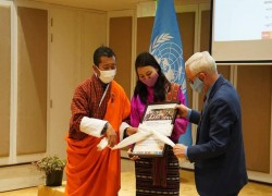 Launch of the aommemoration of the 50th anniversary of Bhutan's membership to the United Nations