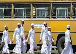 SRI LANKA MUSLIMS PROTEST COVID CREMATIONS AS PM IMRAN VISITS