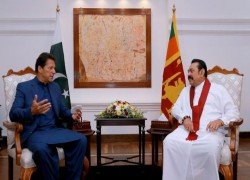 "Sri Lanka considers Pakistan a ""close and genuine friend"", Lankan PM tells Imran Khan"