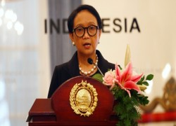 Indonesia and Myanmar foreign ministers meet in Bangkok