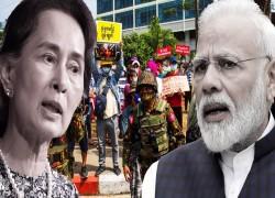 India's silence toward Myanmar shows its wariness of China