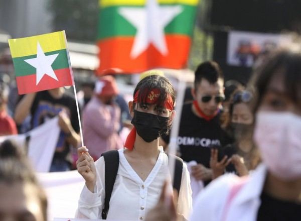 Calls by Myanmar anti-coup protesters for international military intervention get louder