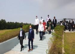 OIC DELEGATION PRAISES GOVERNMENT VISITING BHASAN CHAR