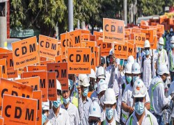 115 Information Ministry staff refuse to work for Myanmar Junta