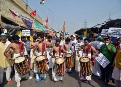 Indian farmers mark 'century' of protest against farm laws