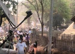 রাতভর গুলি, বুটের আওয়াজ: মিয়ানমারের বিক্ষোভে যোগ দিচ্ছে ট্রেড ইউনিয়নগুলো