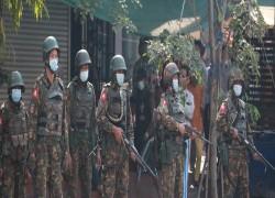 Myanmar Military Regime's Forces establish bases at civilian schools, universities, and hospitals
