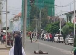 Myanmar regime steps up violence to tackle general strike