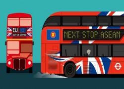 'Global Britain' woos ASEAN in fields of former empire