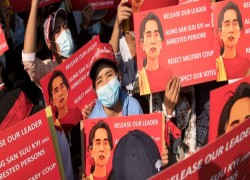 Myanmar's Military Junta launches corruption probe of Suu Kyi and president