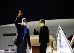 President Solih departs on official visit to Qatar to reinstate diplomatic ties