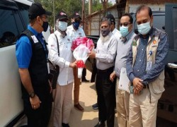 MALAYSIAN FIELD HOSPITAL IN COX'S BAZAR HANDED OVER TO GOVT